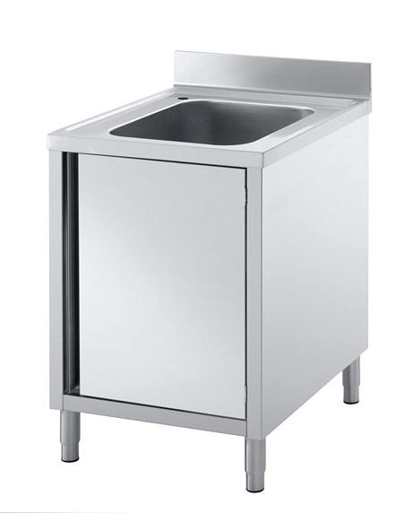 Mobile lavello GGG 600x850mm, 1 vasca (500x400x250mm ...